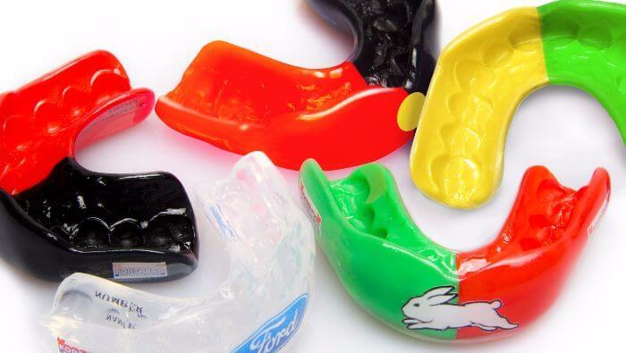Malvern East Family Dental Mouthguards of Different Colors